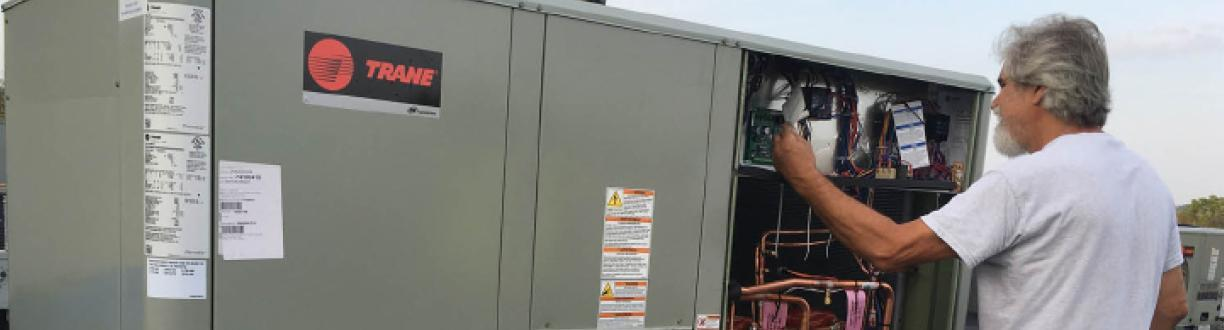 trane commercial unit