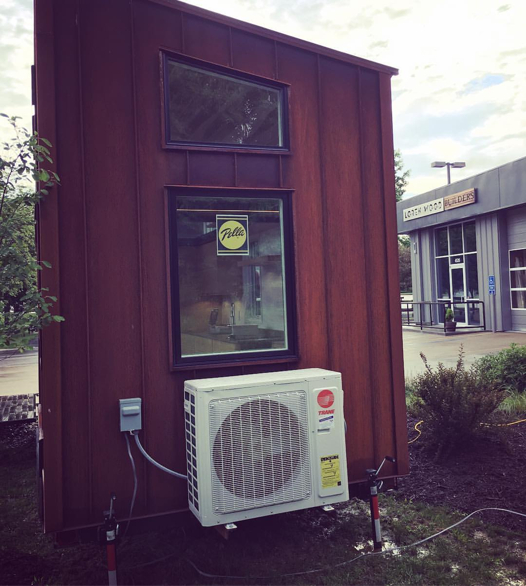 Trane wall air conditioner tiny house home