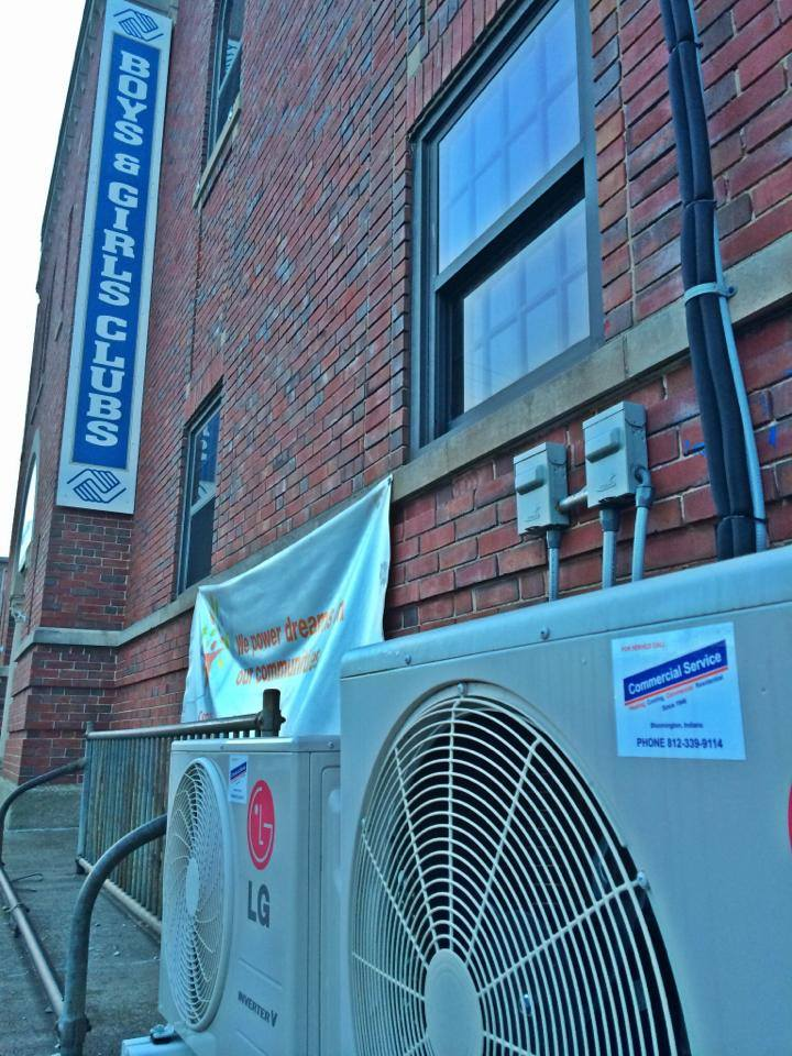 commercial hvac LG boys and girls club